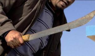 La Victoria: detienen a sujetos que robaban usando machetes