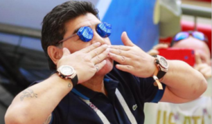 Maradona se ofrece para dirigir a la Selección Argentina