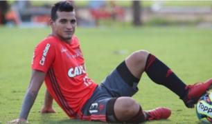 Miguel Trauco se sumó a los trabajos en Flamengo