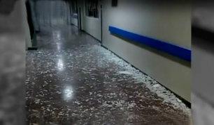Callao: balón de gas explota en hospital Sabogal