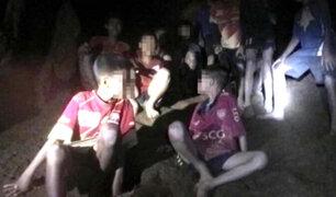 Tailandia: niños atrapados en cueva se preparan para salir a la luz