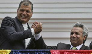 """Rafael Correa denuncia """"complot"""" del Gobierno de Ecuador detrás de orden de detención"""
