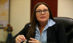 Ministra de la Mujer preocupada por incremento de casos de violencia contra la mujer