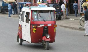 Surco: mototaxistas continuarán trabajando pese a no contar con permiso