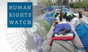 Francia: denuncia que niños inmigrantes duermen en calles de París