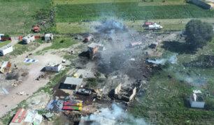 Explosión por juegos pirotécnicos en el centro de México deja 12 muertos