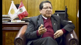Comisión Permanente admitió denuncia constitucional contra Pablo Sánchez por fuga de Hinostroza