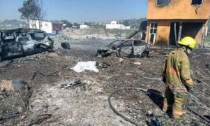 México: se incrementa a 24 el número de muertos por explosión de pirotécnicos