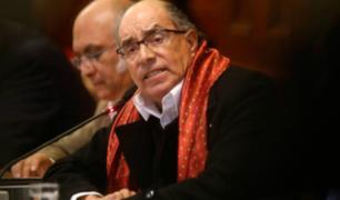 Presidente del PJ pide al Congreso ejecutar sentencia condenatoria contra Edwin Donayre