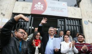 JNE declaró procedente la apelación presentada por Gustavo Guerra García