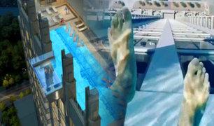 EEUU: una piscina no apta para cardíacos es furor en Texas