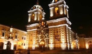 Iglesia San Francisco: inauguran nuevo sistema de iluminación que resaltará las catacumbas