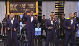 Karimbo y su A Conquistar pusieron a bailar al público de Andrés Hurtado
