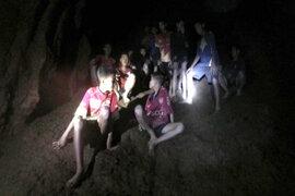 Rescate esperado: niños son rescatados de cueva en Tailandia