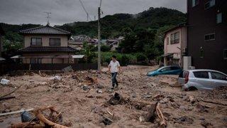 Japón: intensas lluvias dejan decenas de muertos, heridos y desaparecidos