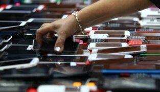 PNP recupera celulares robados por un valor de más de S/. 1 millón