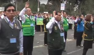 PNP juramenta a civiles como colaboradores para luchar contra la delincuencia
