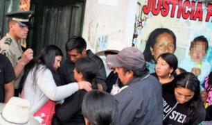 Se realiza velatorio de Juanita Mendoza en su vivienda de Cajamarca