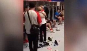 Mundial Rusia 2018: presidenta de Croacia celebró con jugadores su pase a la semifinal