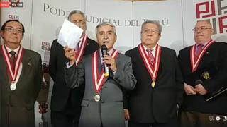 Duberlí Rodríguez: Aparentemente la filtración de audios se habría dado por la PNP