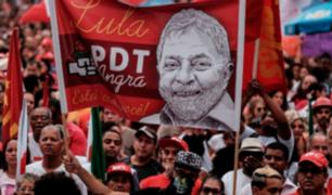 Brasil: lanzan candidatura presidencial de Lula pese a que está preso
