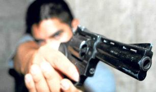 Los Olivos: joven fue herido de bala en el pie tras robo de su celular