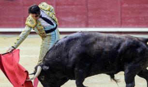 España: torero es corneado y sufre desprendimiento de su cuero cabelludo
