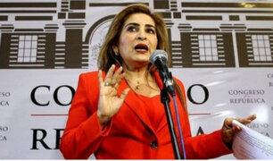 Maritza García propone como presidente del Congreso a Miguel Torres
