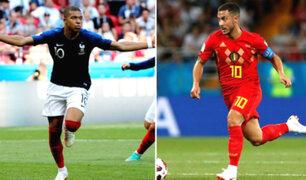Francia vs. Bélgica: hoy se define al primer finalista del Mundial Rusia 2018
