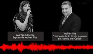 IDL – Reporteros: revelan nuevo audio del presidente de la Corte Superior de Justicia del Callao
