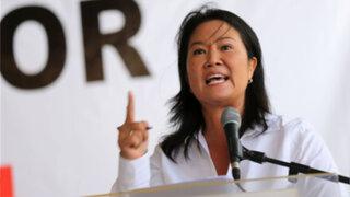 Nueva carta: Keiko Fujimori culpa a la política por su detención