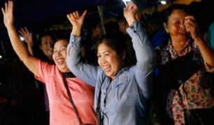 Tailandia: así se encuentran los niños luego de su milagroso rescate