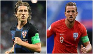 Rusia 2018: vea la previa de Inglaterra vs. Croacia