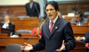 Segundo Tapia anuncia su precandidatura a Mesa Directiva del Congreso