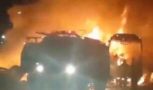 Irán: choque de bus y camión cisterna deja 27 fallecidos
