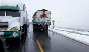Senamhi: advierten presencia de nieve durante tres días en el sur del país