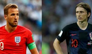 Inglaterra vs. Croacia: hoy se define al segundo finalista del Mundial Rusia 2018