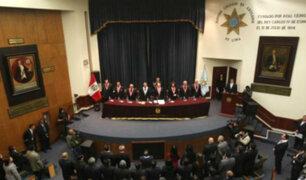 Colegio de Abogados de Lima rechaza actos de corrupción en Poder Judicial