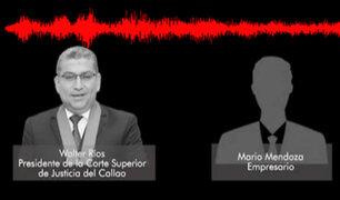 IDL-Reporteros: audio de Walter Ríos revela que benefició a juez Ricardo Chang ante el CNM