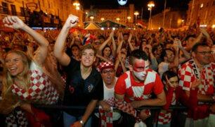 Mundial Rusia 2018: los balcánicos celebran victoria y su pase a la final