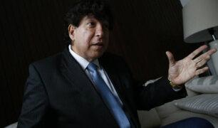 Consejero Iván Noguera se presentó ante Comisión de Justicia del Congreso