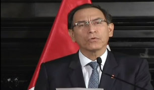 Nuevo ministro de Justicia jurará esta semana, anunció Martín Vizcarra
