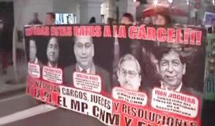Palacio de Justicia: cómo se desarrollo la marcha por los audios del escándalo