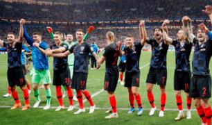 Mundial Rusia 2018: Croacia jugará la primera final de su historia