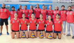 Selección peruana de vóley clasificó al Mundial Sub 18