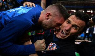 Estas son las imágenes que captó el fotógrafo aplastado por jugadores de Croacia