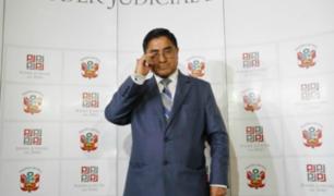 Fiscalía solicita impedimento de salida del país contra el juez Supremo Hinostroza
