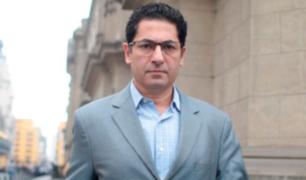 Salvador Heresi mostró su indignación por medidas adoptadas en caso Hinostroza
