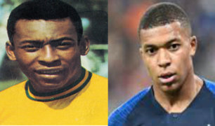 De Pelé a Mbappé: los 6 mejores jóvenes jugadores de los mundiales