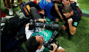 Fotógrafo mexicano contó cómo fue aplastado en el festejo de Croacia